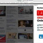 DerStandard - Sitebar